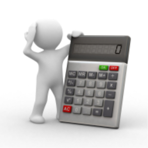 calculator with doughboy
