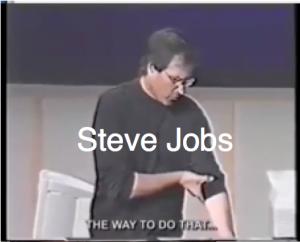 Steve Jobs video clip from Marketing talk