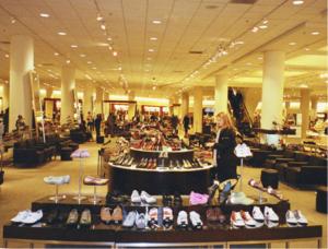 Nordstrom shoe dept