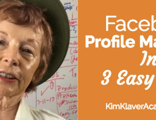Facebook Profile Marketing in 3 Easy Steps