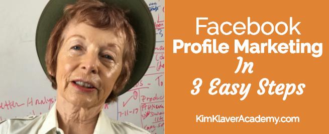 Facebook Profile Marketing
